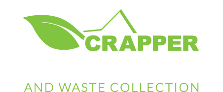 Crapper House Clearance logo white